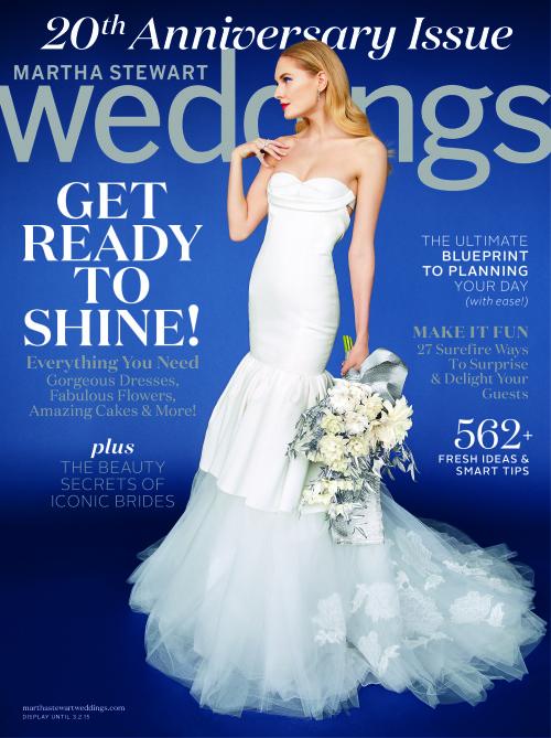 Martha Stewart Weddings 20th Anniversary Issue Winter 2015